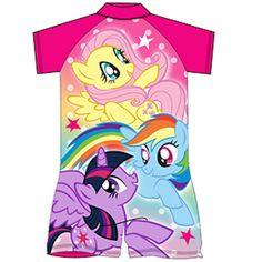 Girls My Little Pony UV Sun Suit
