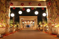 Because walking down the aisle should be memorable and special! #throwback #weddingdiaries #weddingwalkway #luxury #decorations #celebrations #kasturiorchid #jodhpur