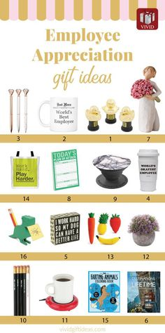 Best Employee Appreciation Gifts Recognition gifts to boost staff morale. Boss Birthday Gift, Birthday Message For Husband, Birthday Gifts For Teens, Gifts For Girls, Happy Birthday, Employee Appreciation Gifts, Employee Gifts, Gifts For Employees, Gifts For Boss