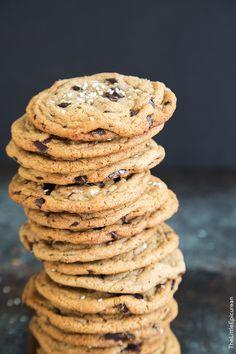 Tahini Chocolate Chunk Cookies