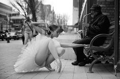 Ballerina Aesha Ash & a Saxophone - The Swan Dreams Project