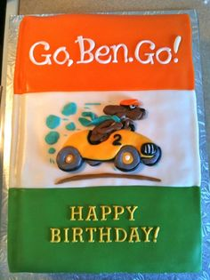 Go, Dog. Go!  Maddax's Birthday!?