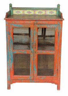 Mango Wood Cabinet. On Gilt Home for $775.
