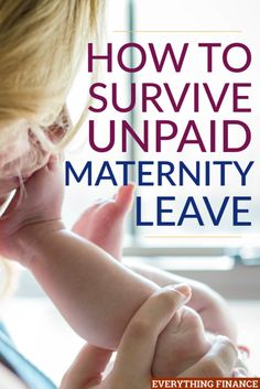 Unpaid maternity leave is the norm here in the US. Make sure you are financially prepared to deal with unpaid maternity leave with these tips. Coffee And Pregnancy, Pregnancy Tips, Maternity Leave Teacher, Weekly Savings Plan, Mat Leave, Baby On A Budget, Way To Make Money, How To Make, Before Baby