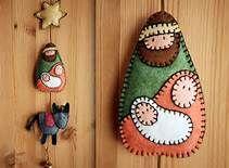 felt ornaments - Bing Imágenes