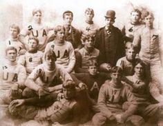 The University of Alabama football team was represented by the Alabama cadets in 1892 [vintage pictures] – Alabama Pioneers