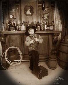 Cute kid dressed as a cowboy standing in front of our Saloon set. Boy Photo Shoot, Photo Shoots, Old Time Photos, Boy Photos, Cute Kids, Colorado, Group, Photography, Painting