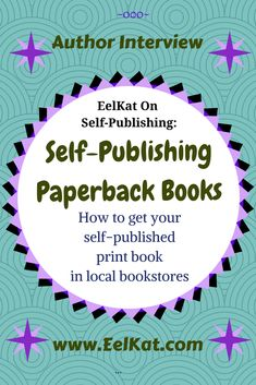 How to get your self-published print book in local bookstores