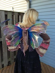 Butterfly Fairy Wings Faery Brianna Wings for Bridal Wedding Cosplay Convention LARP Halloween Costume Fair Faire Festival Faery Wings Fairy by Faerieworks on Etsy https://www.etsy.com/listing/162943732/butterfly-fairy-wings-faery-brianna