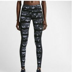 Nike NWT full length (L) Nike NWT camo prints full length tights size large tight fitting medium-large Nike Pants Leggings