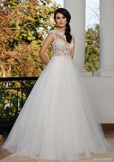 """Maya 2015 Royal Wedding Dress Collection>>>>Incredibly Detailed Beaded & Embroidered Lace Bodice Makes This Ball Gown A Gorgeous """"Stand-Out! 2015 Wedding Dresses, Wedding 2015, Designer Wedding Dresses, Wedding Gowns, Maya Fashion, Fashion 2015, Bridal Collection, Dress Collection, Romanian Wedding"""