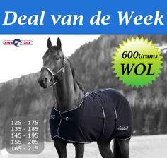 Warme dikke wollen deken, zeer geschikt voor het drogen van het paard bij lage temperatuur.  http://happyhorsedeal.nl/finn-tack-elite-100-wollen-deken.html