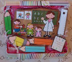 Espectacular este regalo para profes, unas galletas a las que no les falta detalle ¡Ideal! || CUKI CHIC Galletas decoradas