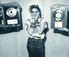 B+W madonna 80s