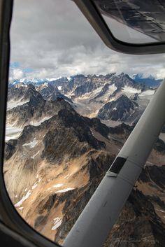 For Real... | by Stephanie Sinclair  #Alaska #StephanieSinclair #aerialphotography #canon #sigma #denali #seattleempress