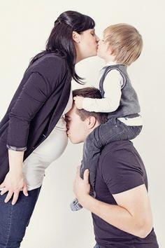 séance maternité avec famille