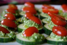 Local Food Rocks: Pesto Canapes