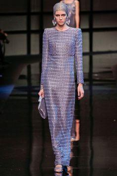 Sfilata Giorgio Armani Privé Paris - Alta Moda Primavera Estate 2014 - Vogue