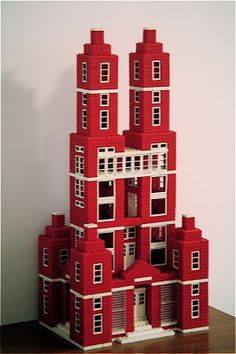 Lego City Sets, Lego Sets, American Village, Architecture Today, Monogram Models, Baby Boomer, Casement Windows, Red Bricks, Childhood Toys