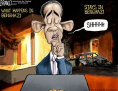 OBAMA CARTOONS: Conservative Political Humor: What Happens in Benghazi stay in Benghazi