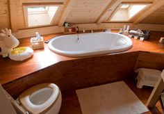 Dome Home -- Interior Bathroom