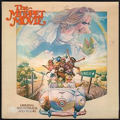 """""""The Muppet Movie: Original Soundtrack Recording"""" features some songs that belong in the canon of great musical tunes. Oscar nominations were awarded both for the score and for the unlikely radio hit """"Rainbow Connection"""", which Kermit the Frog sings with all the dreamy wistfulness of a short green Judy Garland, which serves as an opening establishment of the characters' driving urge for something more in life. (Vinyl LP)"""