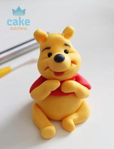 Pooh Bear by Etty