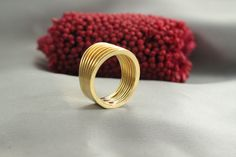 Designed Ring, GOLD Rings, Nature Stacking 14k Gold Rings,14k Stacking Rings, Skinny Rings,Special circle Skinny Rings 14k gold ring by LIRANSHANI on Etsy