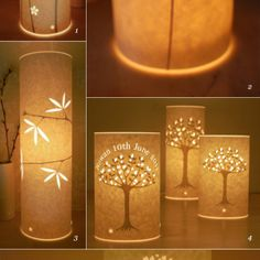 I am picturing the dandelion design on batik....or something else cool that lets the light shine through...