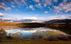 #queenstown #gigatownqtn Lake Hayes, Queenstown, New Zealand
