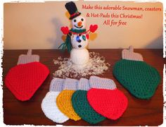 Free Cute Christmas Crochet Craft Patterns