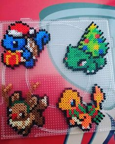 Hama Beads Pokemon, Diy Perler Beads, Perler Bead Art, Hamma Beads 3d, Peler Beads, Fuse Beads, Perler Bead Templates, Pearler Bead Patterns, Perler Patterns