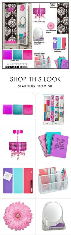 """""""Decorate Your Locker: Fab"""" by melindairenes ❤ liked on Polyvore featuring interior, interiors, interior design, home, home decor, interior decorating, BackToSchool, lockerdecor, thanksdarlings and thanksmylovelies"""