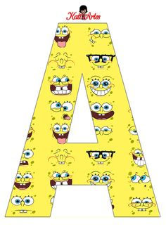 Spongebob Birthday Party, 3rd Birthday Parties, Diy Birthday, Pineapple Under The Sea, Family Holiday Destinations, Square Pants, Spongebob Squarepants, Letters And Numbers, Decorating Blogs