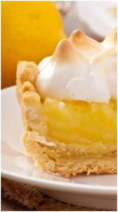 Good Old Fashioned Homemade Lemon Meringue Pie - Click to bake yours with any of five favorite recipes, including guilty-sweet classics and sugar-free and gluten-free options. www.TodaysPlans.com/Favorite-Lemon-Meringue-Pie-Recipes.html