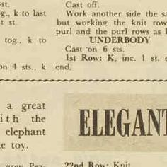 ELEGANT ELEPHANT - He is elegant as elephants go! And he's quickly knitted in plain garter-stitch. - The Australian Women's Weekly - - 25 Nov 1959 Knitted Dog Sweater Pattern, Knit Dog Sweater, Knitting Patterns Free Dog, Baby Knitting, Doorstop Pattern, Horse Pattern, Cast Off, Baby Knits, Stuffed Toy