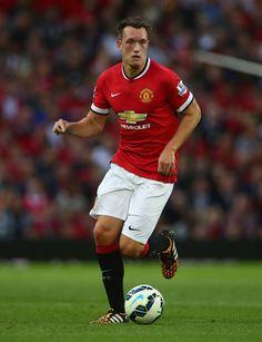 Phil Jones - Manchester United v Valencia, 12th August 2014 #mufc #manutd