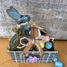 Nicole Wright Designs- Bunnies and Baskets new Sizzix Designer Eileen Hull Heartfelt Collection 2017