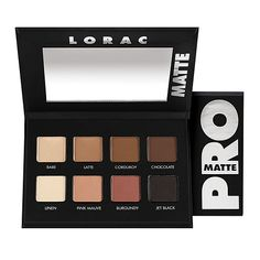 Buy LORAC Pro Matte Eye Shadow Palette with free shipping on orders over $35, gifts-with-purchase, expert advice - plus earn 5% back | Beauty.com