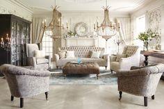 Arhaus - eclectic-living-room