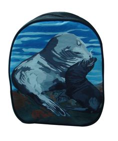 59bbeff31974 Sea Lion Purse Backpack by Salvador Kitti From by SalvadorKitti