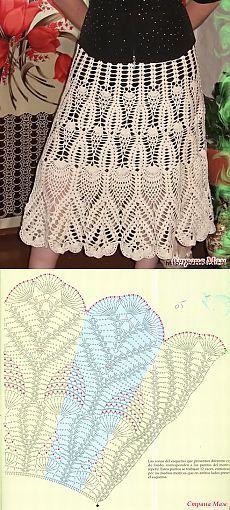 How to Crochet a Little Black Crochet Dress - Crochet Ideas Crochet Bodycon Dresses, Crochet Skirts, Crochet Clothes, Crochet Diagram, Crochet Chart, Knit Crochet, Crochet Summer, Crochet Gratis, Crochet Designs