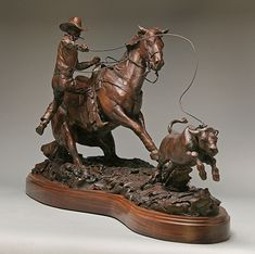Day Money by Con Williams, 18 x 34 Horse Sculpture, Modern Sculpture, Animal Sculptures, Abstract Sculpture, Bronze Sculpture, Metal Sculptures, Cowboy Art, Western Cowboy, Western Crafts