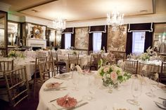Reception venue: The Olde Pink House in Savannah