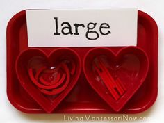 Montessori Monday - Montessori-Inspired Valentine Activities with Spielgaben {Free Printables}