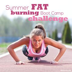 Summer Fat Burning Boot Camp Challenge is a 24 minute high intensity, fat burning workout. For anyone who has a desire to lose weight, body fat, and inches! #fatburn #workout #skinnyms