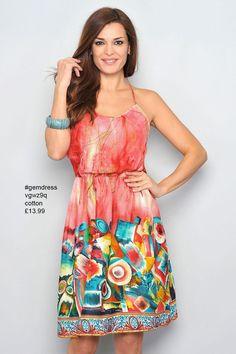 cotton #gemdress vgwz9q £13.99