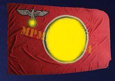 BANDEIRA DE SERVIÇO DO NSDAP ∙ GRANDE – II GUERRA