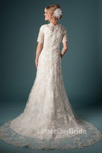 Mermaid/Fit & Flare (Wedding) : Celestial Love this train
