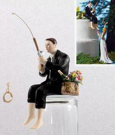 Hooked on Love Groom Figurine